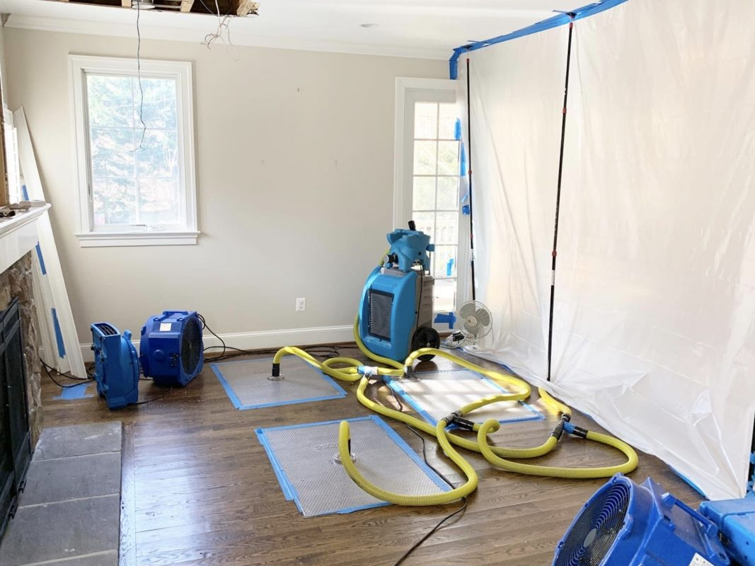 The Step by Step Process of Water Damage Services