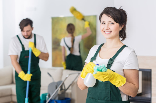 Cleaning Services Involves Several Steps